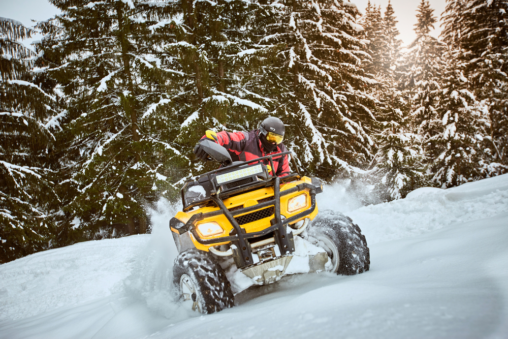 Preparing Your ATV All-Terrain Vehicle For Long-Term Indoor Heated Storage Near Snohomish County
